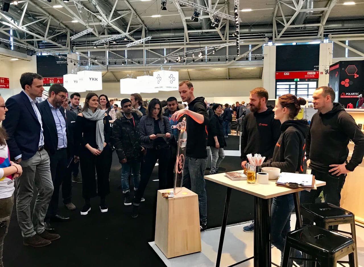 JayKay at ISPO Munich 2018